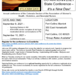 2021 Colorado AWHONN Conference